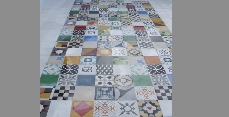 Imitacion azulejos hidraulicos materiales de - Suelo imitacion hidraulico ...